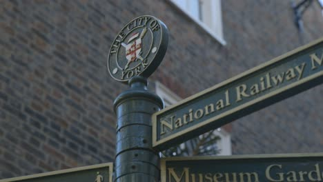 City-of-York-Sign-in-England