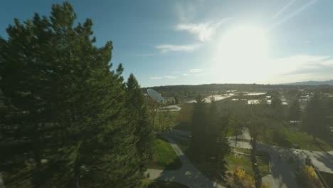 Aerial-Clock-Flyby