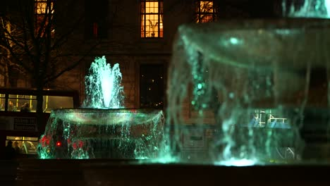Slow-Motion-Fountains-Night