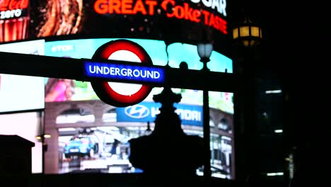 Underground-sign-&-Advertising-Board