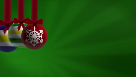 Baubles-Green-Background-Loop