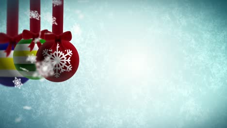 Baubles-Ice-Background-Loop