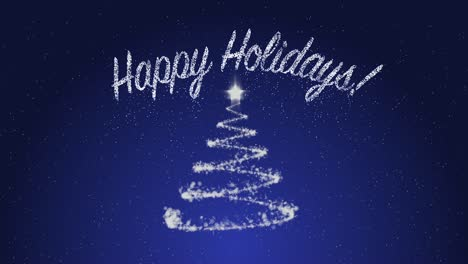 Happy-Holidays-on-Blue-Background