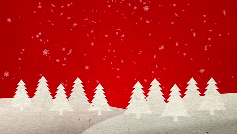 Pop-up-Christmas-Trees-on-Red