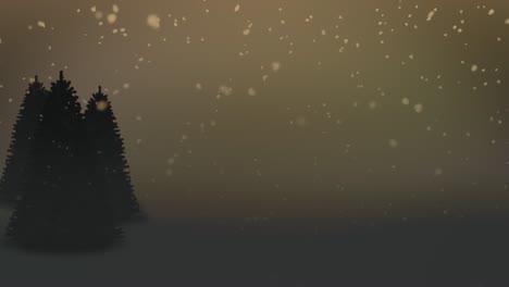 Winter-Scene-Evening-Loop