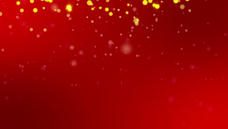 Gold-Sparkles-on-Red-Background-Loop