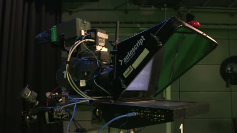 Studio-Camera-with-Teleprompter