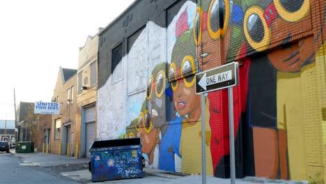 Graffiti-Wall-in-Detroit