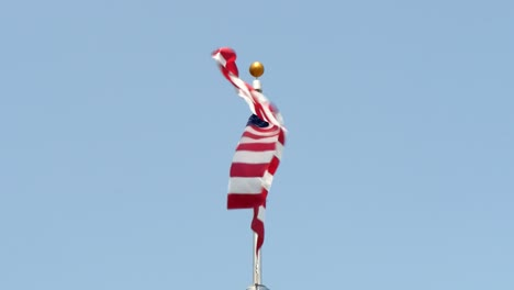 USA-Flag-Flying-in-Wind