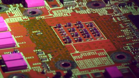 Rotating-Around-Elements-of-a-Brightly-Coloured-Circuit-Board