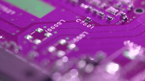 Tracking-Up-a-Purple-Circuit-Board