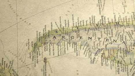 Panning-Across-a-Vintage-Map-to-Argentina