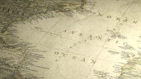 Vintage-Map-Pan-Across-to-North-Atlantic-Ocean