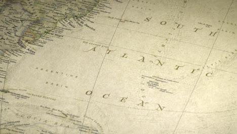 Vintage-Map-Pan-Across-to-South-Atlantic-Ocean