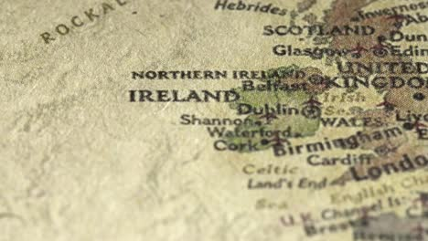 Panning-Across-the-UK-on-a-Vintage-Map
