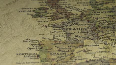 Vintage-Map-Pan-Across-to-France