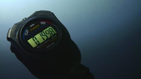 Panning-Across-Stopwatch