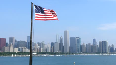 USA-Flag-and-Chicago-Skyline-2