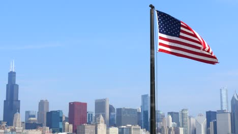 USA-Flag-and-Chicago-Skyline-1