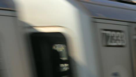 Fast-Train-Moving-Past-New-York-Skyline