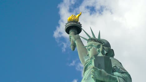 Clouds-Moving-Quickly-over-the-Statue-of-Liberty