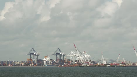 Long-Shot-of-Shipping-Port-New-York