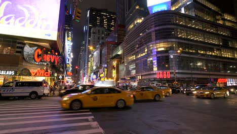 Traffic-at-Night-in-Times-Square