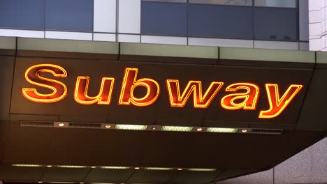 Illuminated-Subway-Sign-in-Times-Square-New-York