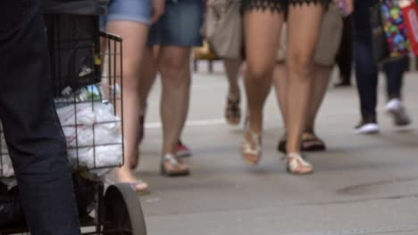 Legs-of-People-in-a-Busy-New-York-Street