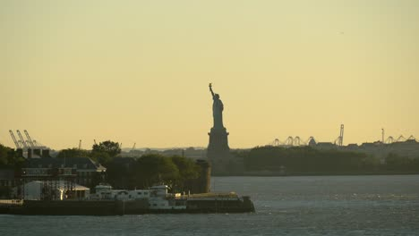 Statue-of-Liberty-at-Sunset