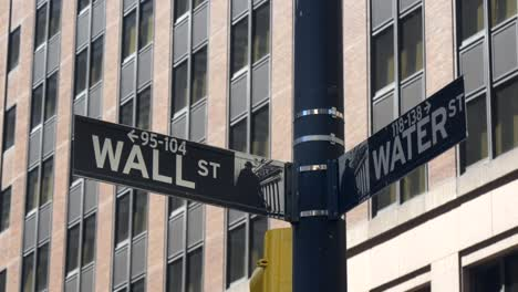 Close-up-Wall-Street-Sign