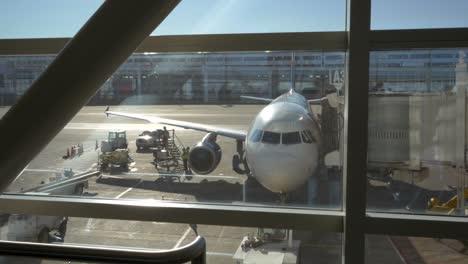 Airplane-Arrival-At-Terminal-Gate