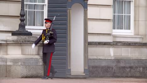 Guardia-en-el-Palacio-de-Buckingham