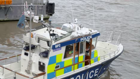 Police-Boat-on-River-Thames