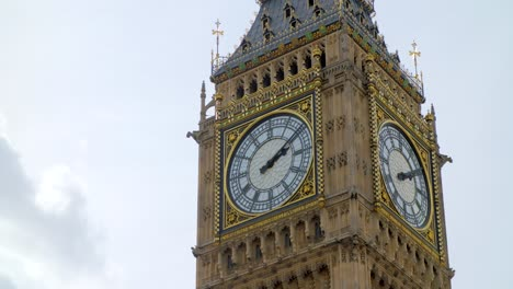 Close-Up-of-Clock-Faces-on-Big-Ben