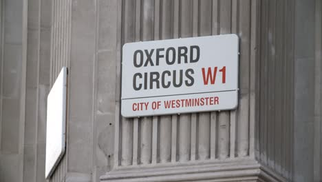 Oxford-Circus-Sign