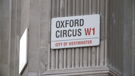 Oxford-Circus-Sign