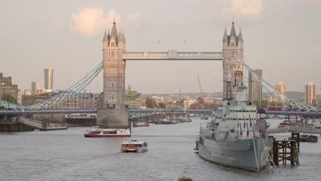 HMS-Belfast-infront-of-Tower-Bridge