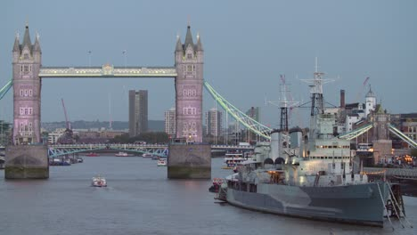 HMS-Belfast-and-Tower-Bridge-at-Night