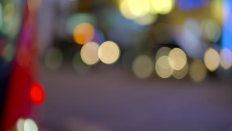 Bokeh-Car-Lights-in-Piccadilly-Circus