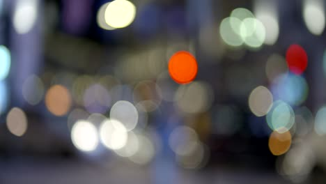 Out-of-Focus-Car-Lights-in-Piccadilly-Circus