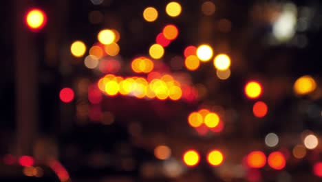 Bokeh-Traffic-at-Night-in-San-Francisco