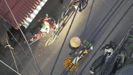 Vietnamese-Fruit-Vendor-With-Bicycle