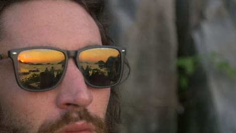 Reflection-of-Sunset-in-Sunglasses