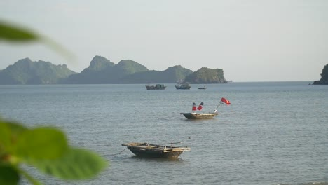 Vietnamese-Boats-in-Ha-Long-Bay