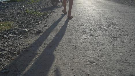 Man-Walking-to-Motorbike