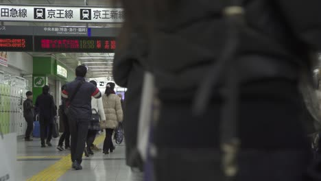 Crowds-Moving-Through-Shinjuku-Station-Tokyo