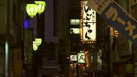Illuminated-Signs-in-Tokyo-Alleyway
