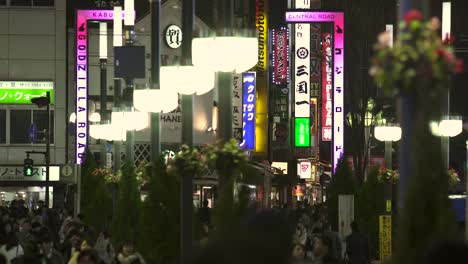 Illuminated-Signs-on-Busy-Tokyo-Street