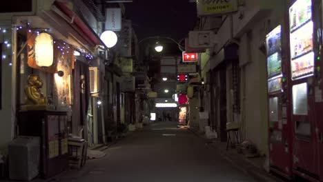 Narrow-Japanese-Alleyway-at-Night